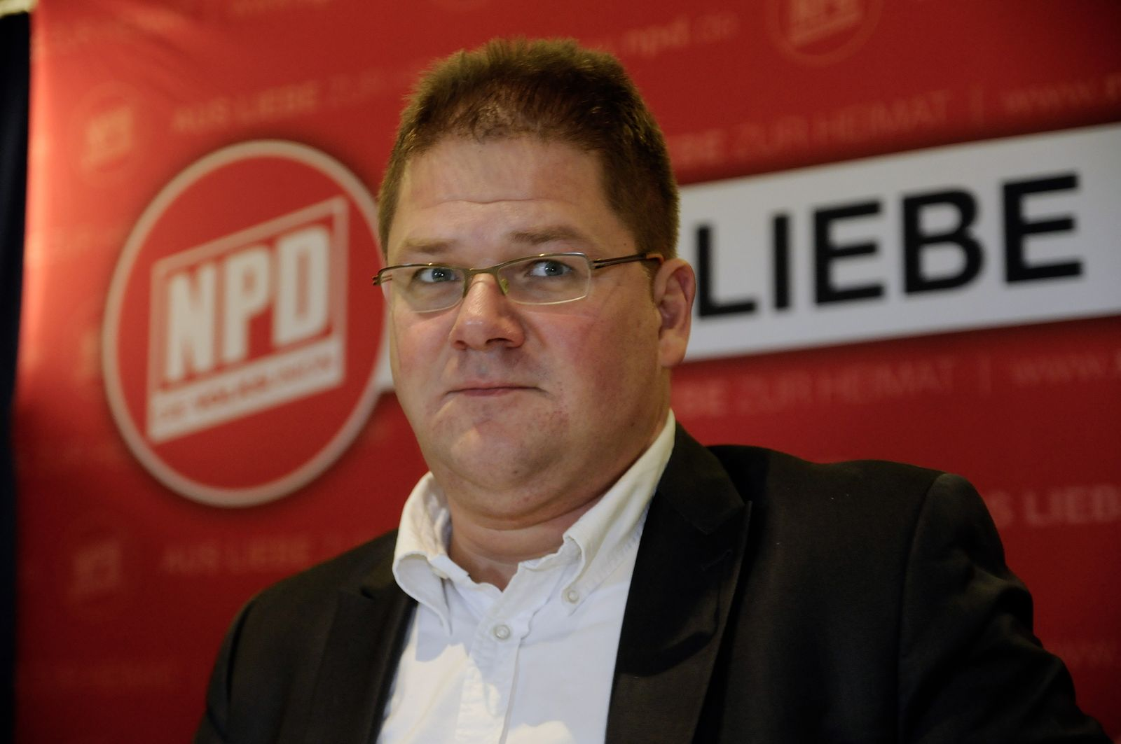 NICHT VERWENDEN Holger Apfel NPD