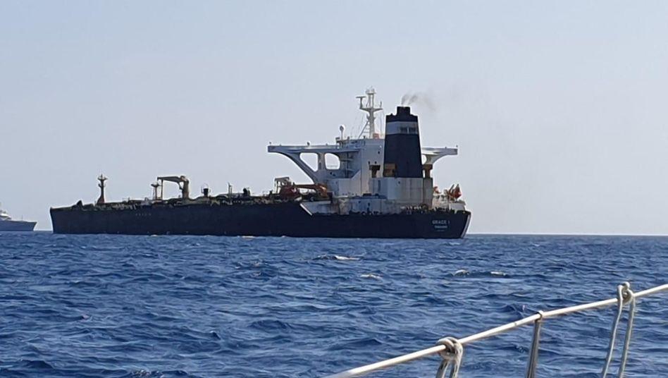 """""""Grace 1"""": Europäische Behörden haben das Schiff festgesetzt"""