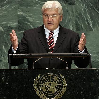 """German Foreign Minister Frank-Walter Steinmeier cancelled a trip to Syria after President Assad referred to Israel as an """"enemy."""""""