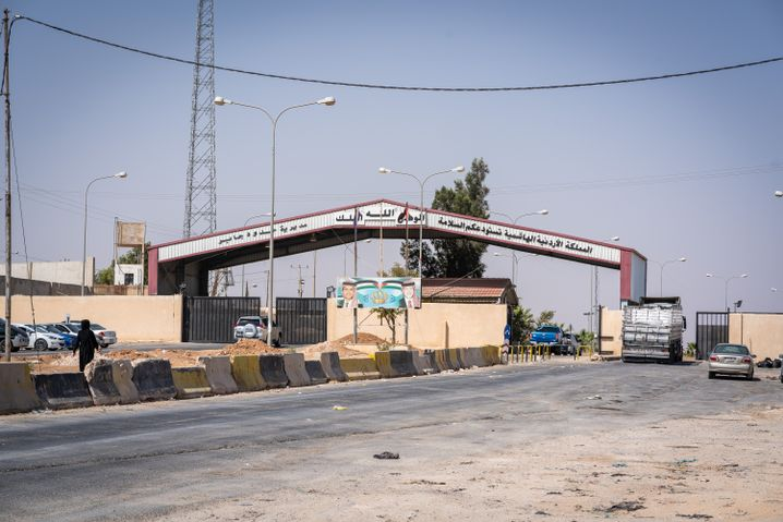 The Jaber border crossing between Jordan and Syria reopened last year.