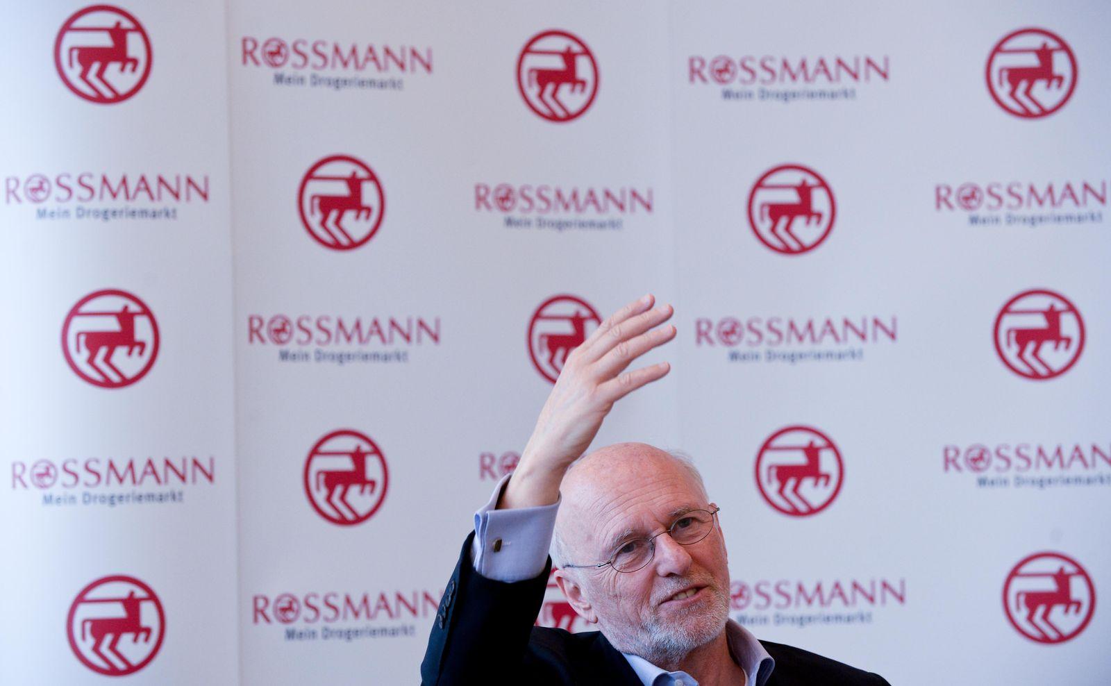 Jahrespressekonferenz Rossmann