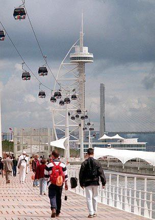 Mehr als acht Millionen Besucher lockte die Expo 98 nach Lissabon