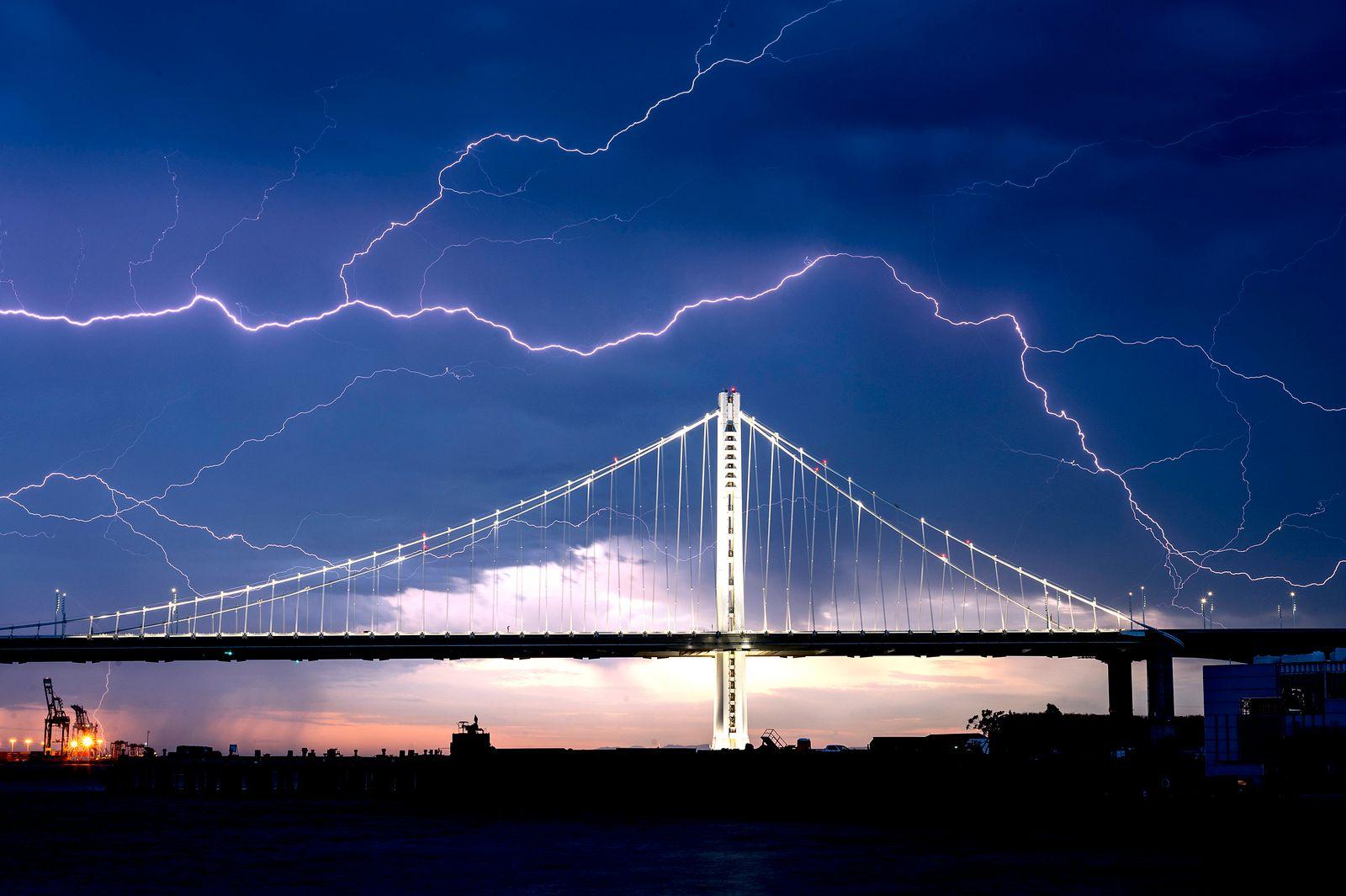 Gewitter in Kalifornien