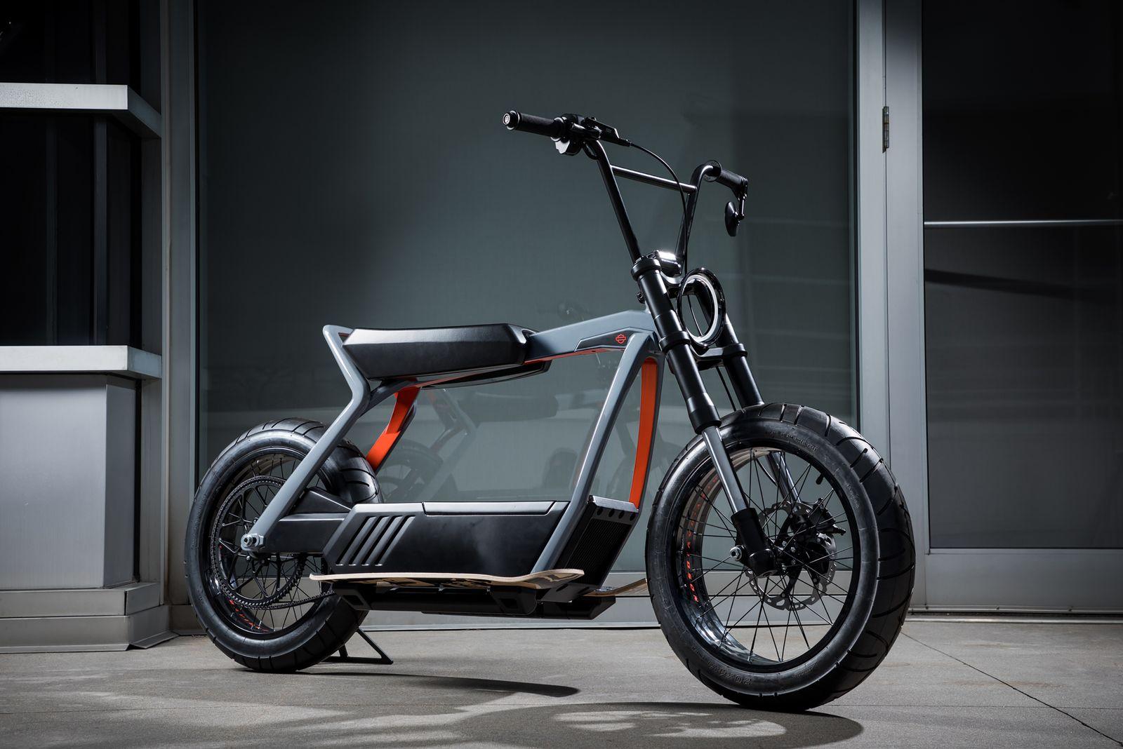 Prototyp Harley-Davidson Roller