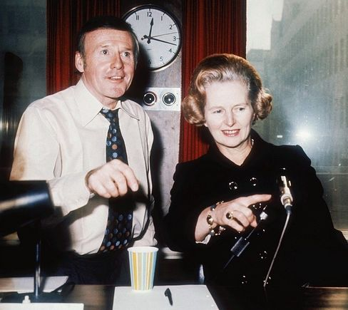 Margaret Thatcher on the BBC in 1975