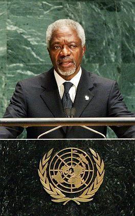 """Kofi Annan: """"Das Böse benötigt nur das Schweigen der Mehrheit"""""""