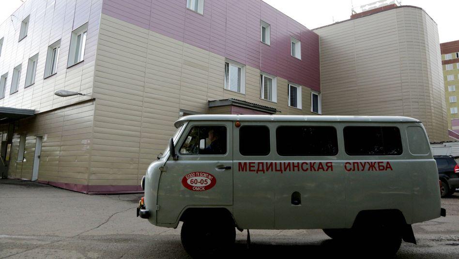 Notfall-Krankenhaus Nummer 1 in Omsk