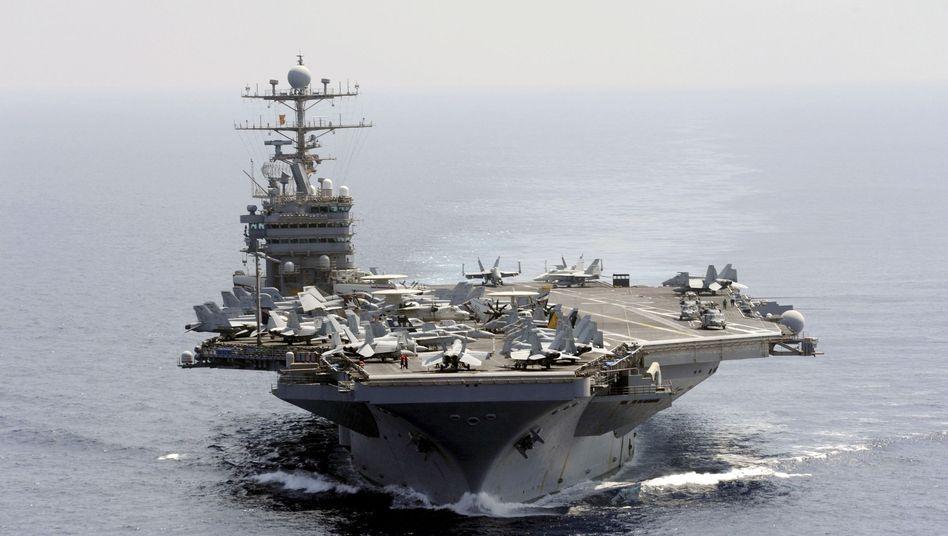"""US-Flugzeugträger """"Abraham Lincoln"""": Signal an Teheran"""