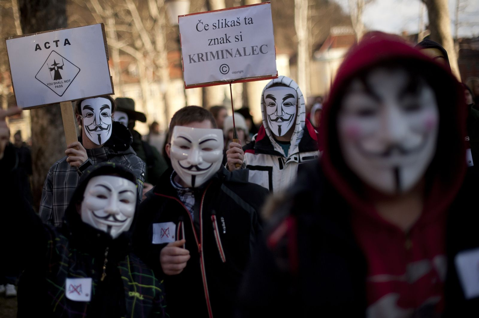 Slovenia Internet ACTA