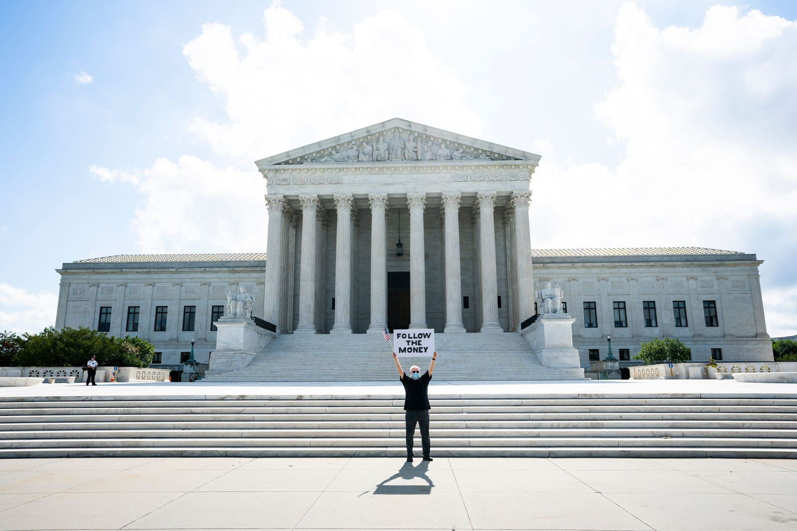 Supreme Court to rule on Trump tax returns, Washington, USA - 09 Jul 2020