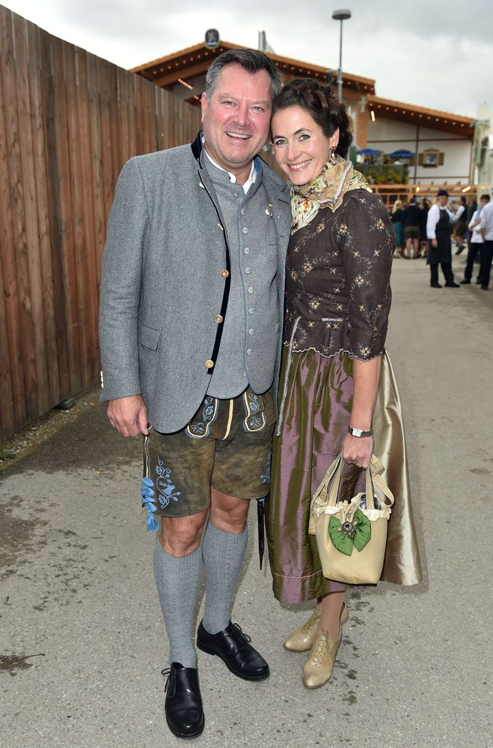 Bürgermeister Josef Schmid und seine Frau Natalie