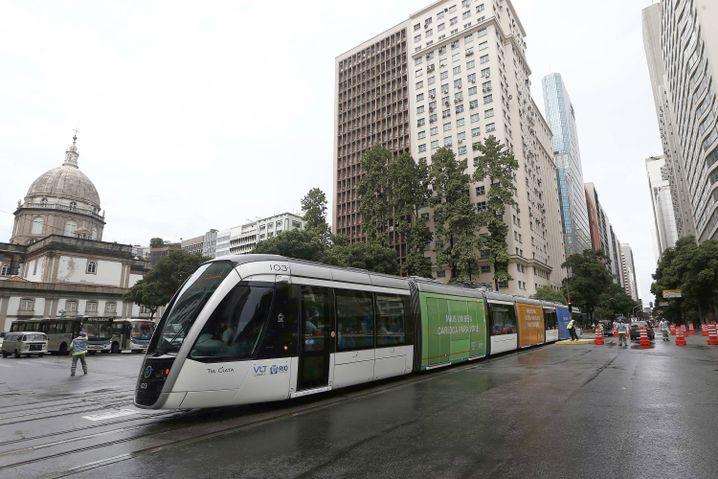 Rios neue Straßenbahn
