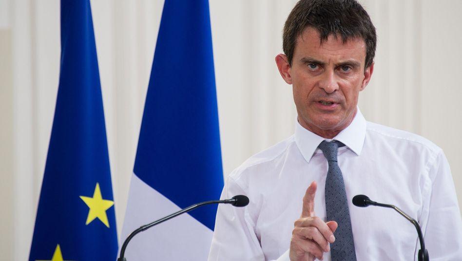 Frankreichs Premier Valls am 3. Juli: Don't mention the haircut