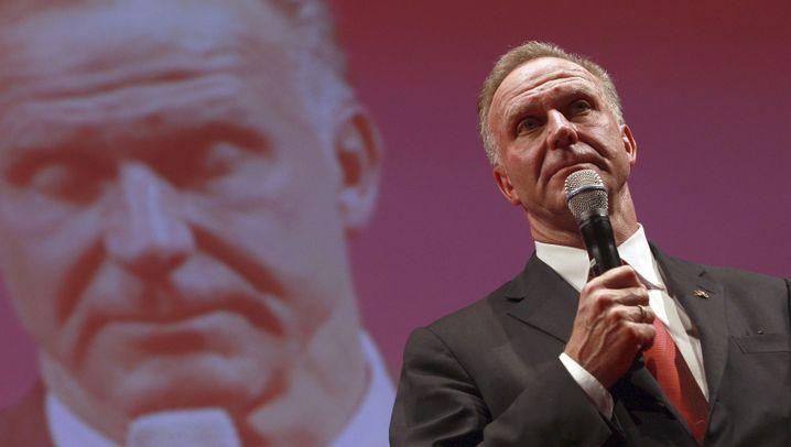 Bayern-Spieler beim Bankett: Ein Trauerspiel
