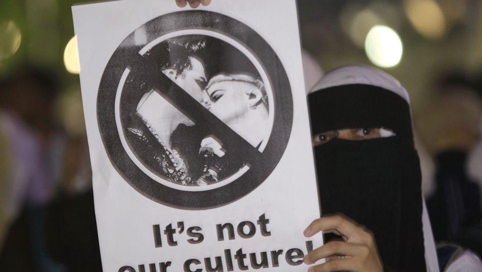 Protest gegen gleichgeschlechtliche Liebe in Malaysia