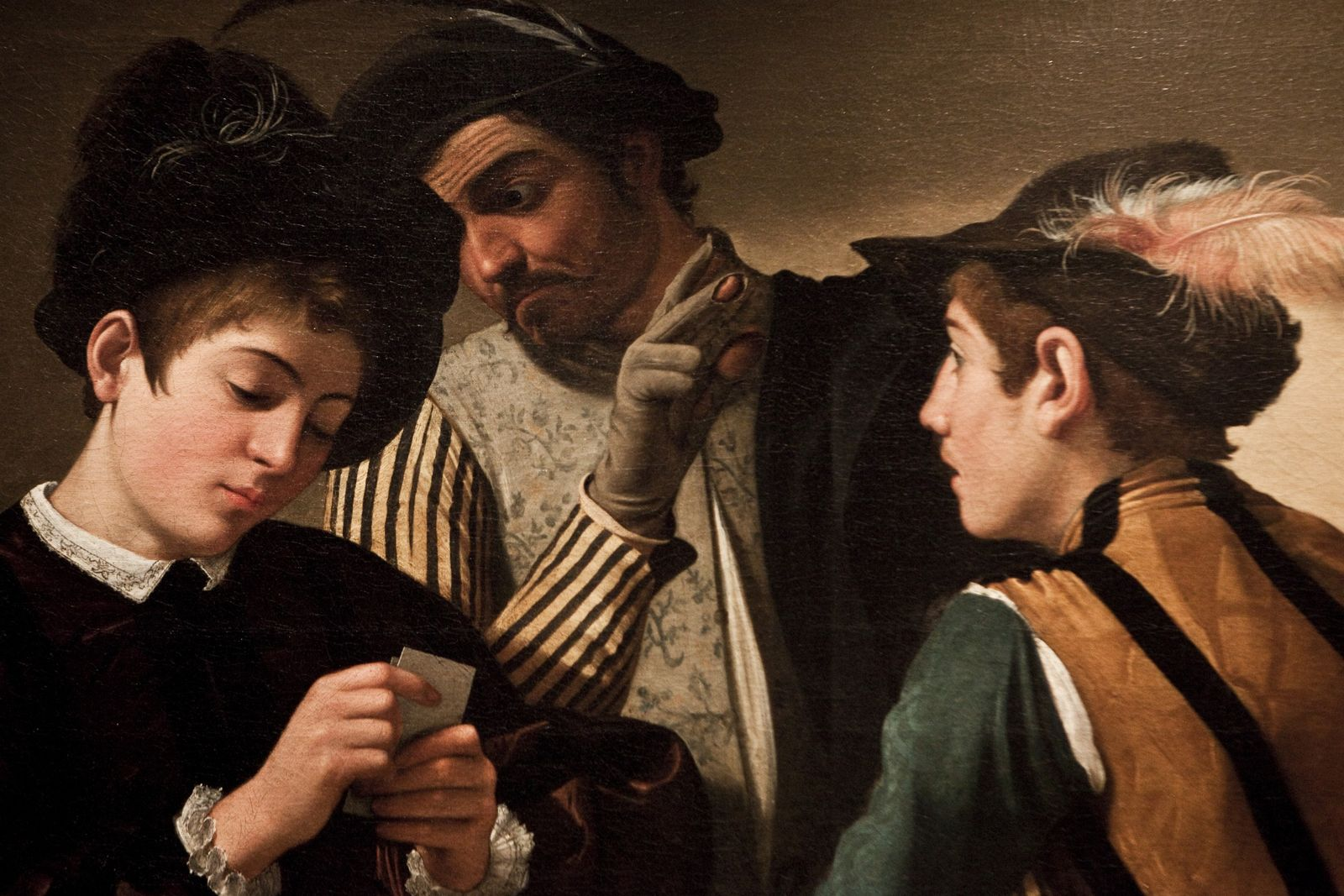 NICHT MEHR VERWENDEN! - Caravaggio/ Kartenspiel