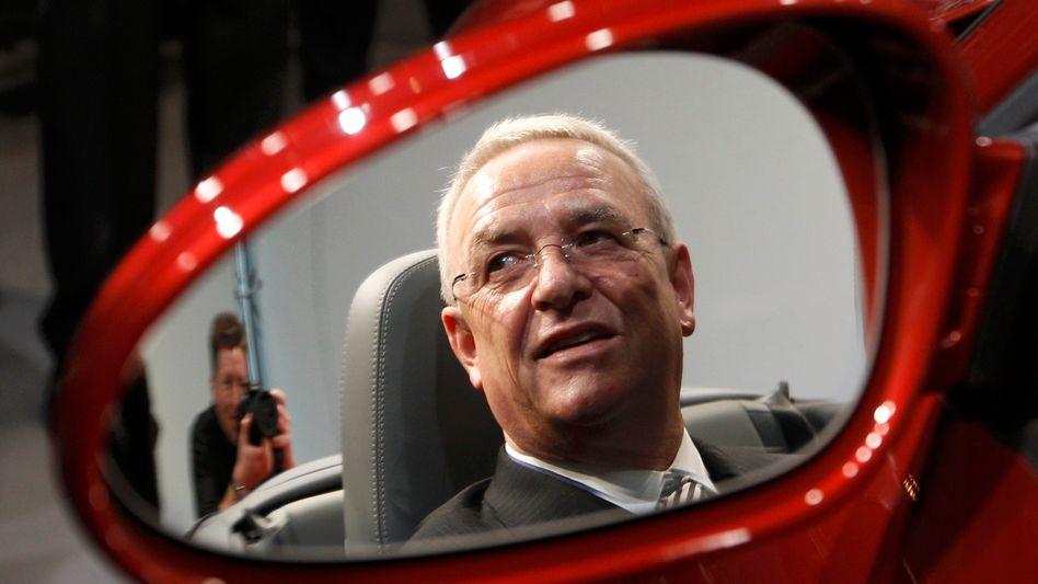 Ex-VW-Chef Winterkorn im Porsche-Sessel: Einen wichtigen Posten hält er noch