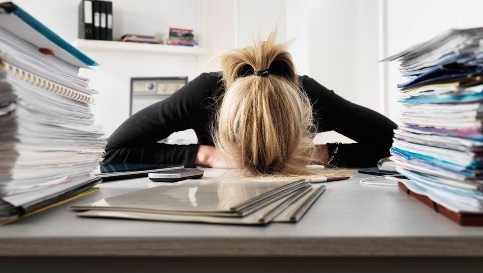 Überfordert im Job? Viele leiden unter einem zu hohen Stresspegel