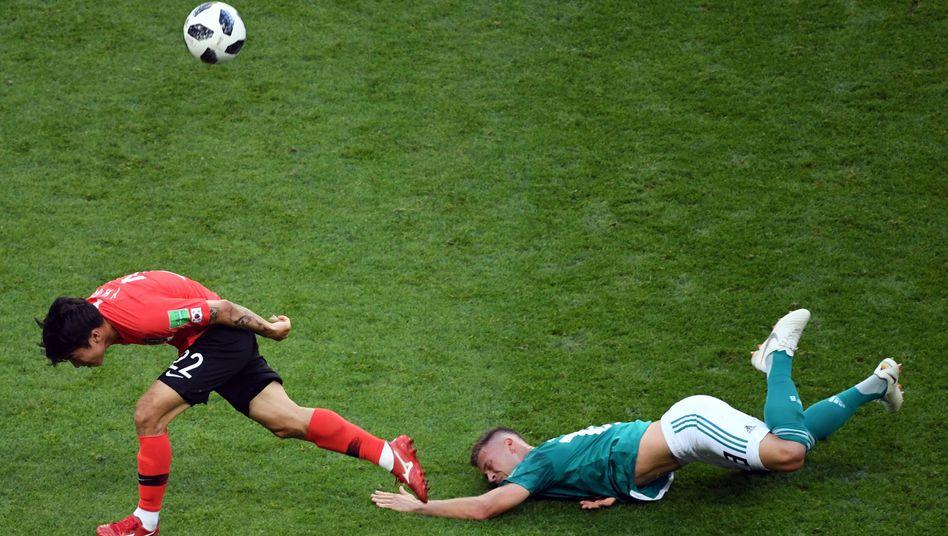 WM-Spiel Südkorea-Deutschland in Kasan