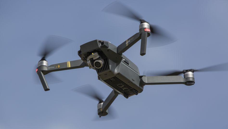 DJI-Drohne in Berlin
