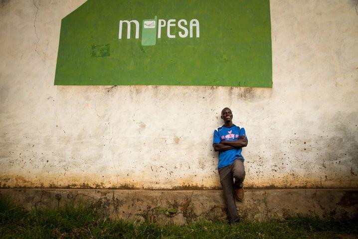 Mit dem M-Pesa-System lässt sich Geld auch in die entlegensten Winkel Kenia schicken.