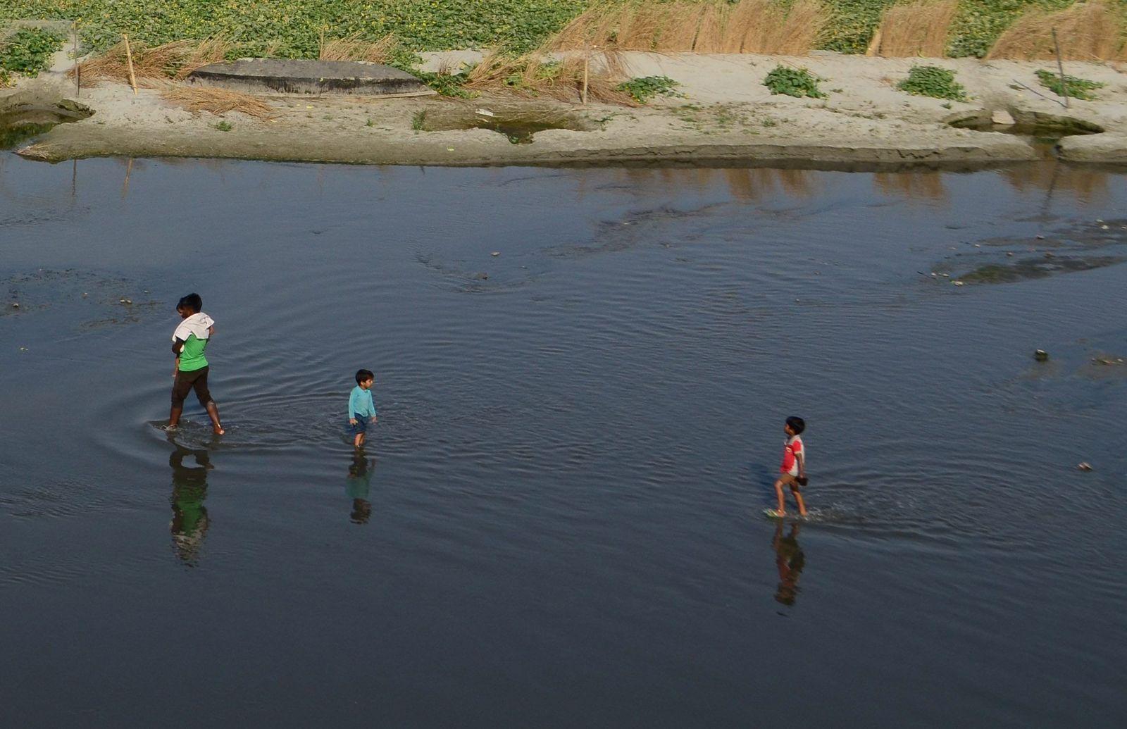 Pollution in Ganges River