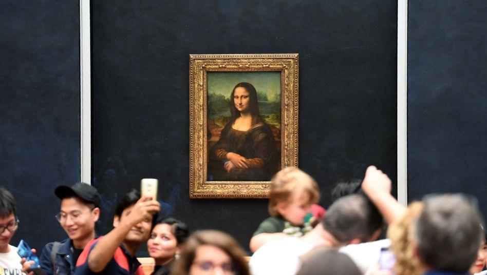 """Besucheransturm auf die """"Mona Lisa"""" im Louvre"""