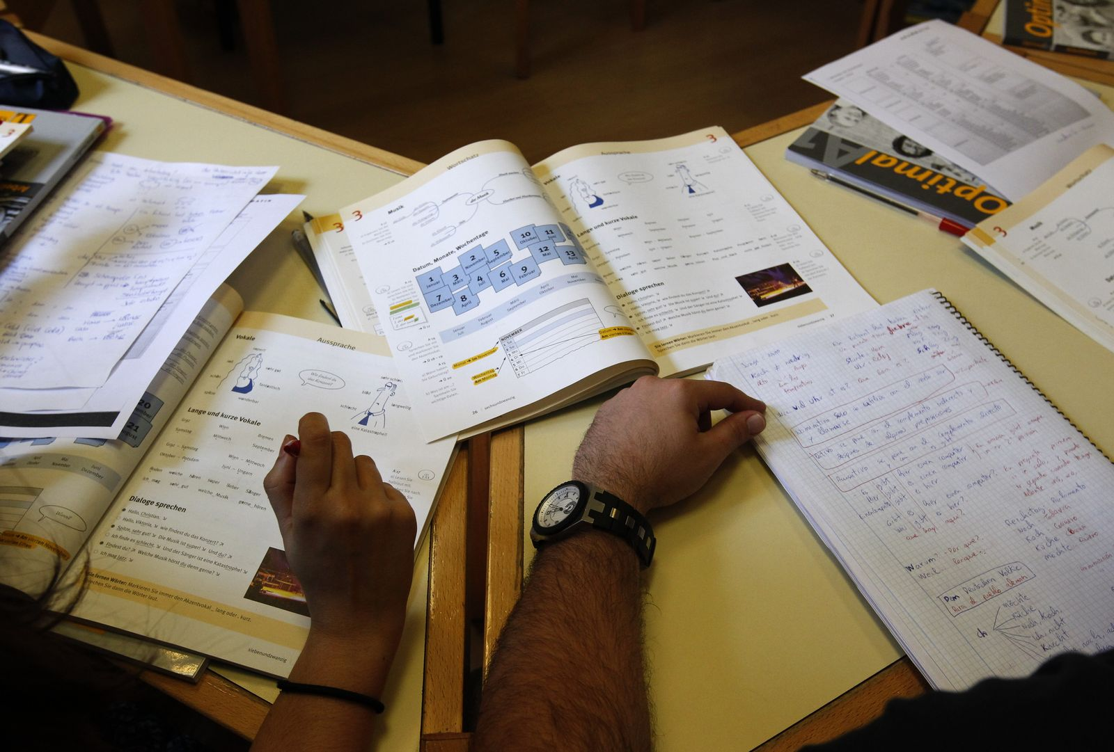 Spanien / Migranten / Deutschkurs