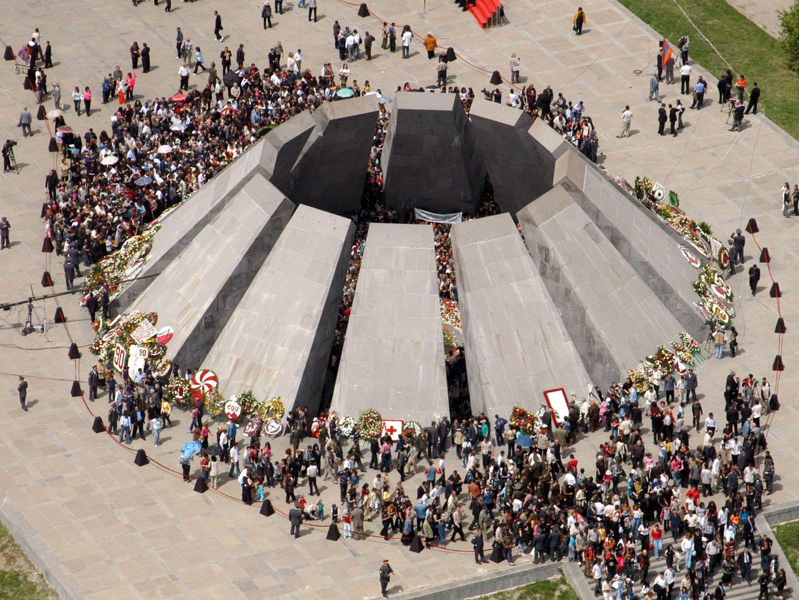 Denkmal in Yerevan / Völkermord / Armenien