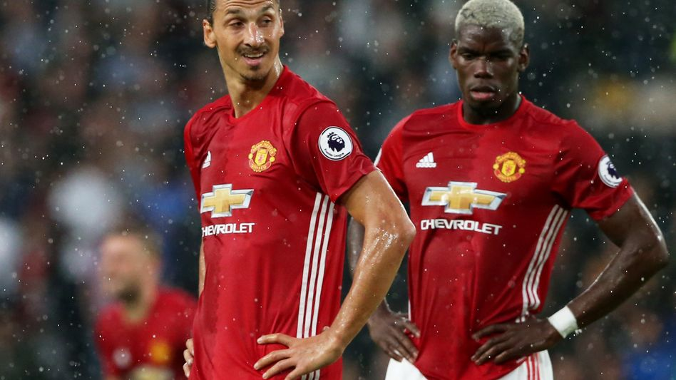 Zlatan Ibrahimovic und Paul Pogba