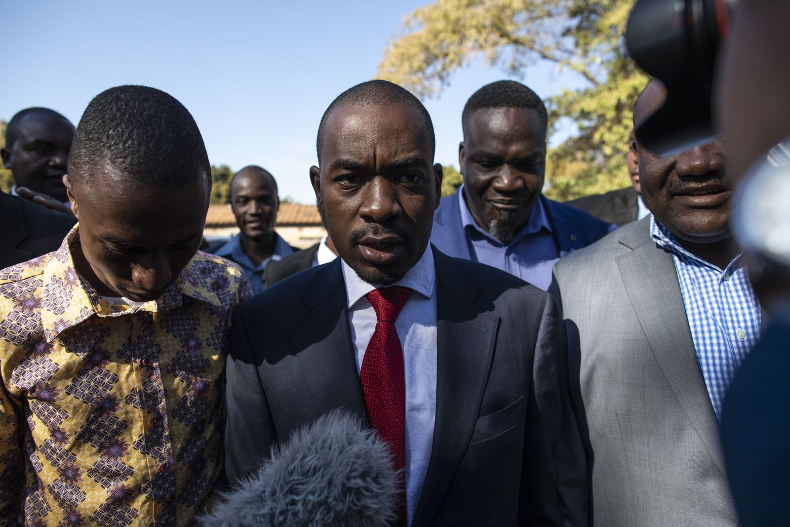 EINMALIGE VERWENDUNG Simbabwe/ Wahlen/ Nelson Chamisa