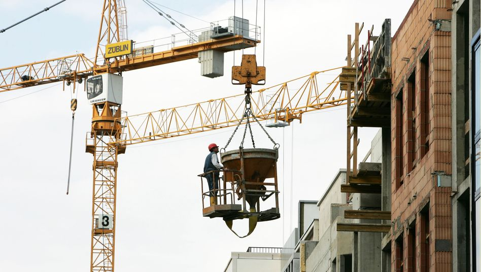 Bauarbeiten in Berlin: Branche schrumpft im Mai um 4,9 Prozent