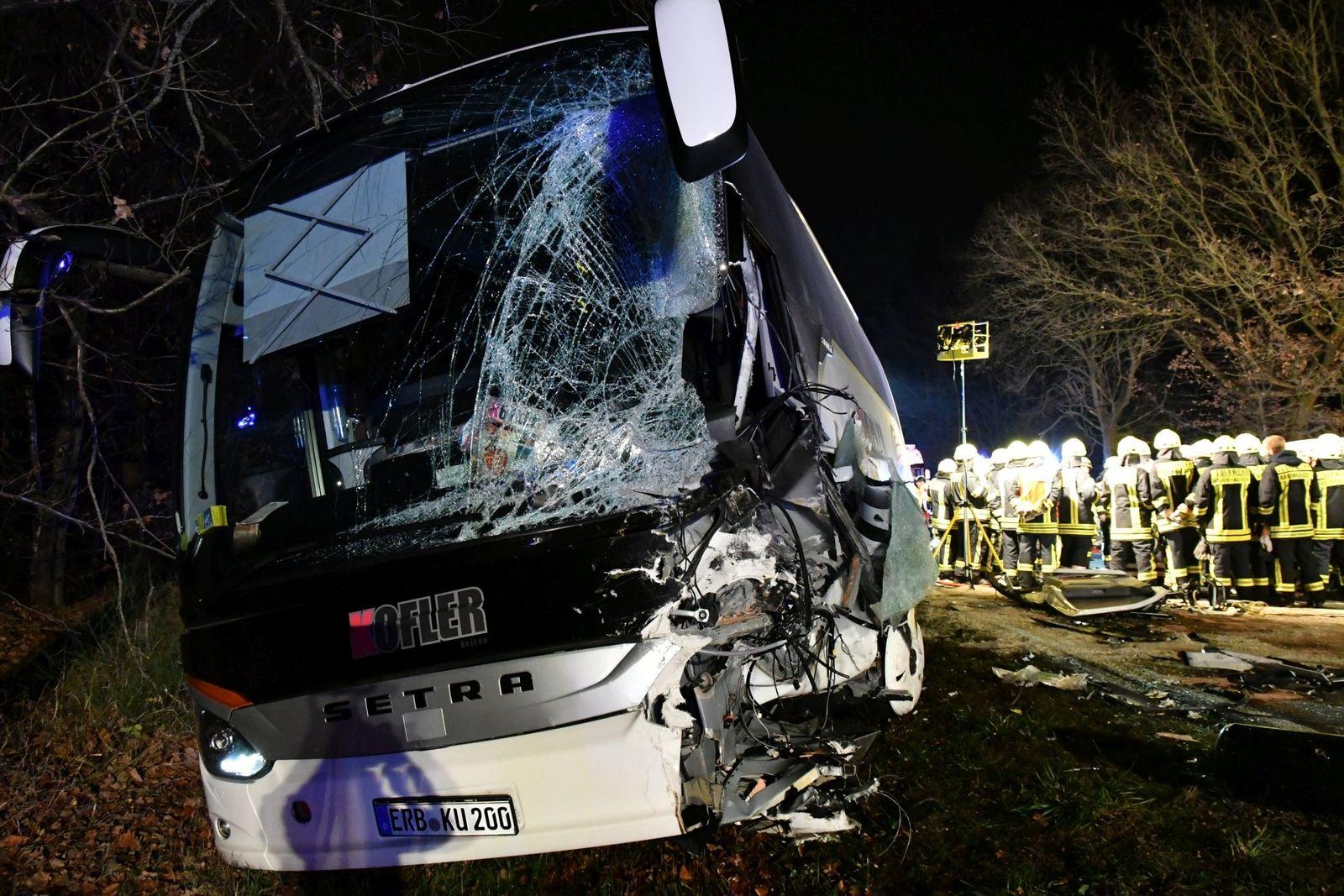 Reisebus Unfall Bayern