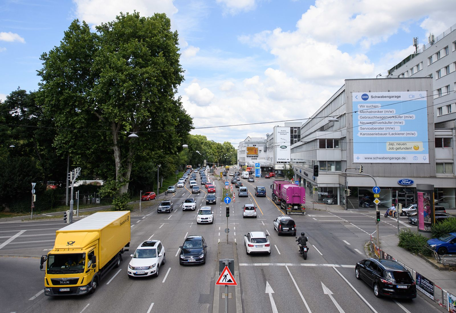 Straßenverkehr / Stuttgart / Neckartor