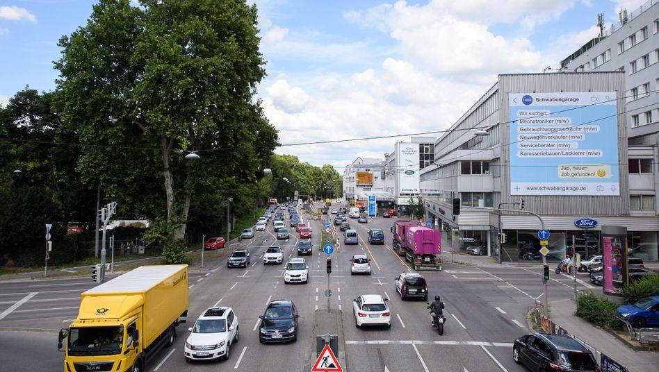 Seit Anfang 2019 gelten in Stuttgart Fahrverbote für alte Dieselautos