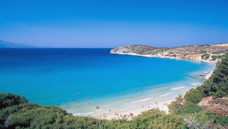 Strandlandschaft auf Kreta