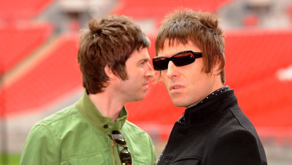 Noel (l.) und Liam Gallagher (Archiv)