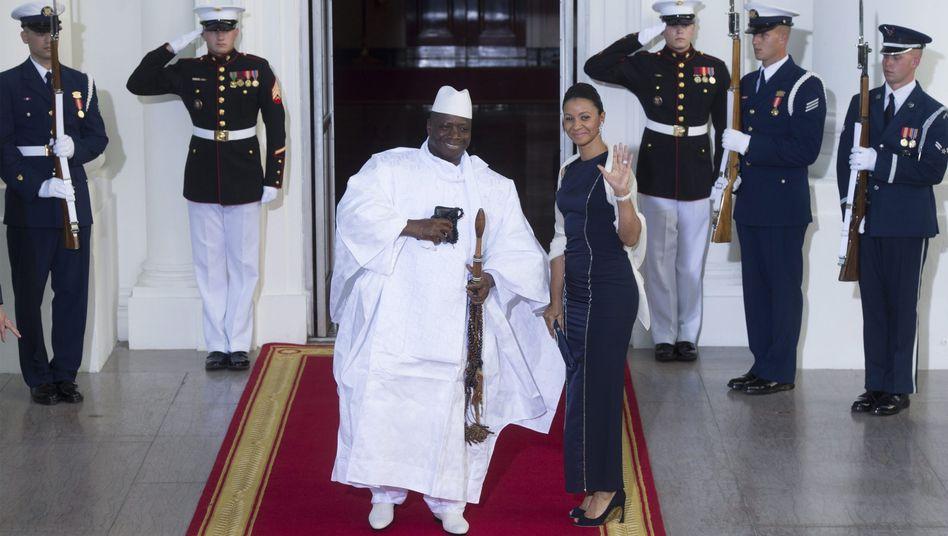 Gambias Präsident Yahya Jammeh: Schwule und Lesben sollen sein Land verlassen