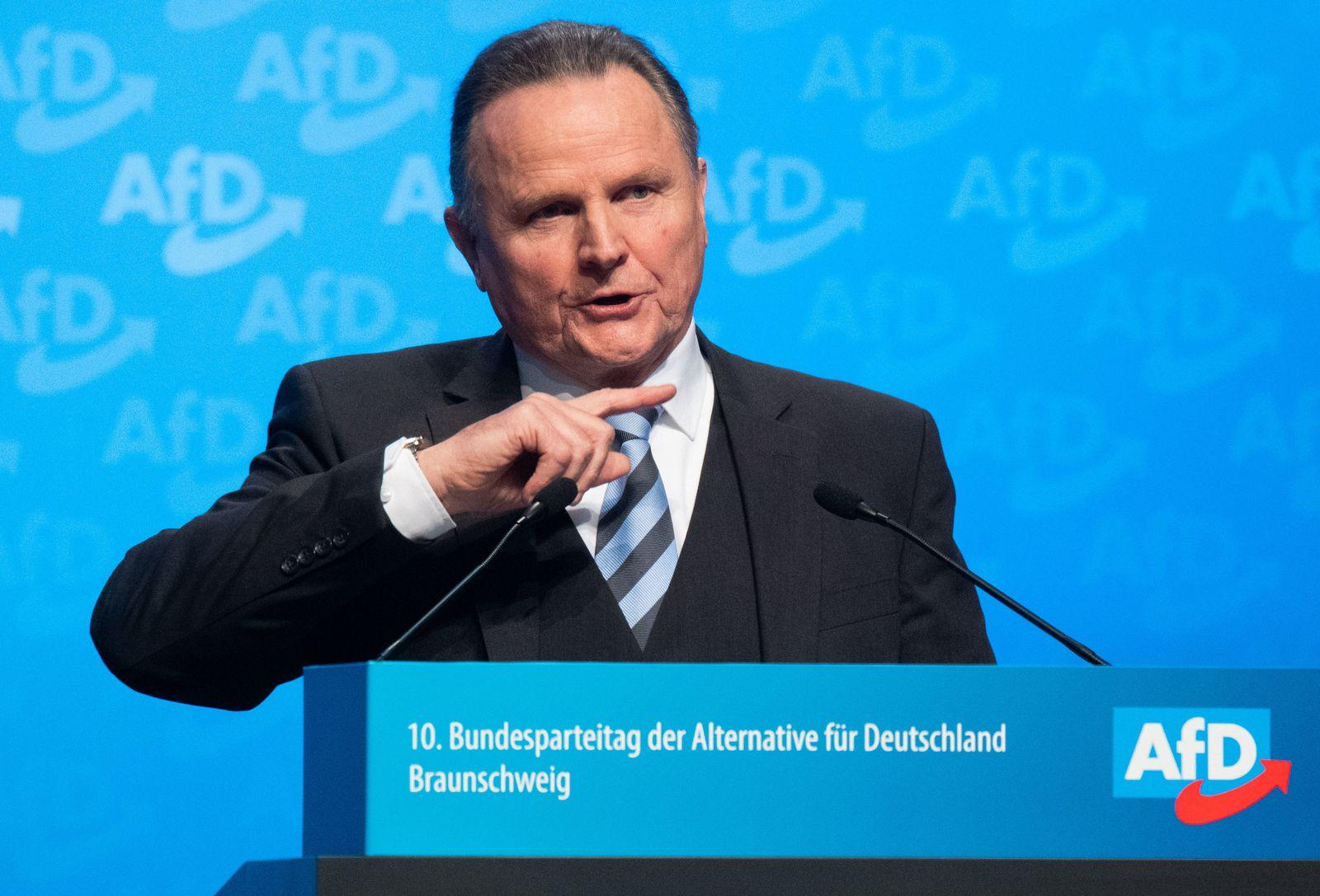 AfD-Landeschef Pazderski kandidiert nicht mehr fürden Vorstand