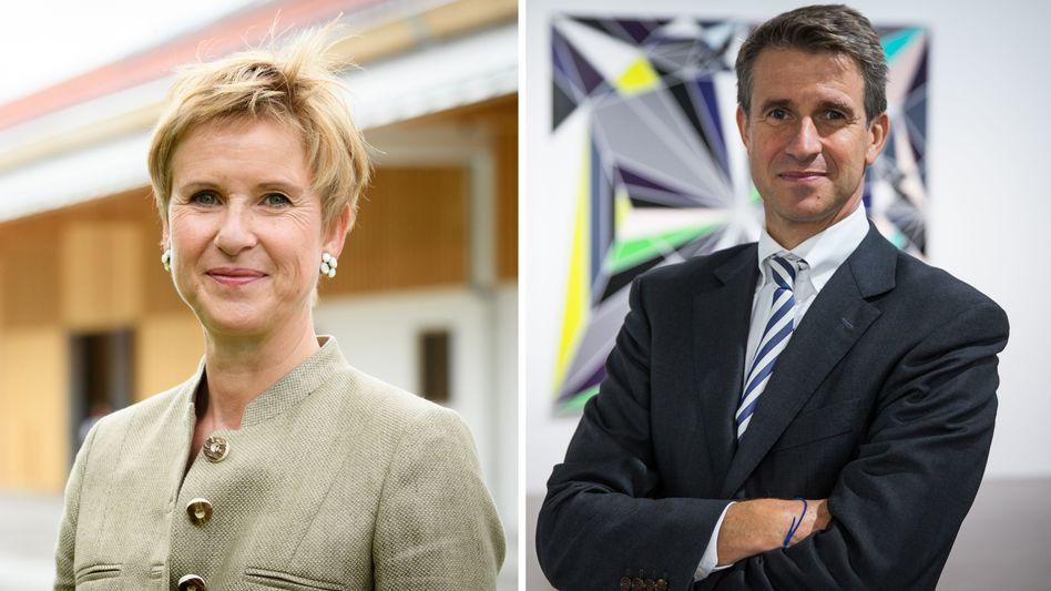 Susanne Klatten, Stefan Quandt