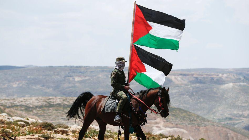 Palästinensischer Sicherheitsmann im Westjordanland: Streit um BDS-Resolution im Bundestag