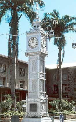 Zeugnis der kolonialen Vergangenheit: Der Uhrturm erinnert an die britischen Wurzeln der Inselhauptstadt Victoria