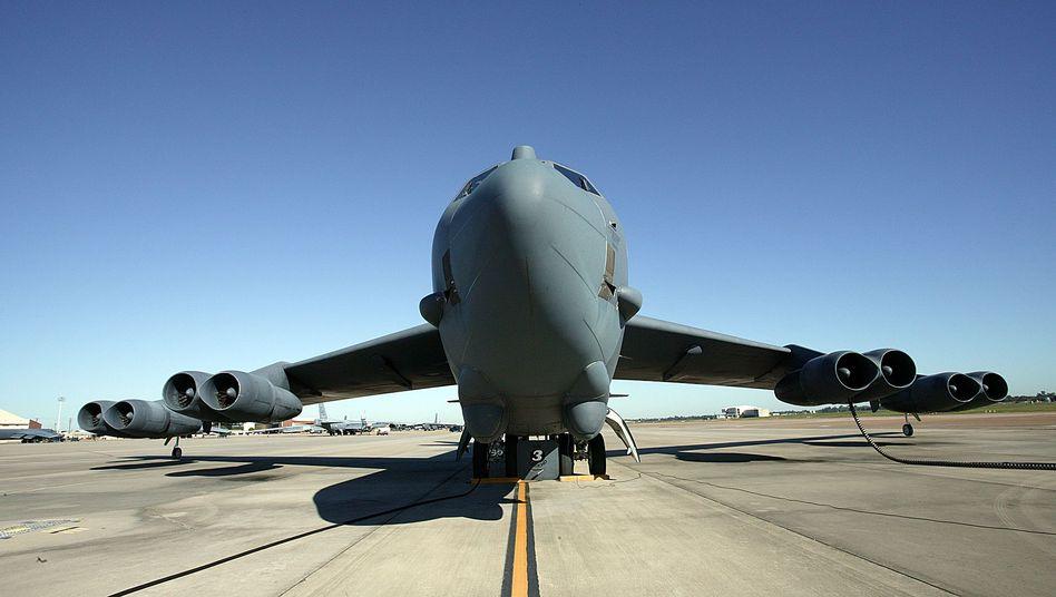 """B-52-Bomber im US-Bundesstaat Louisiana (Archivfoto): """"Ohne Zwischenfälle"""""""