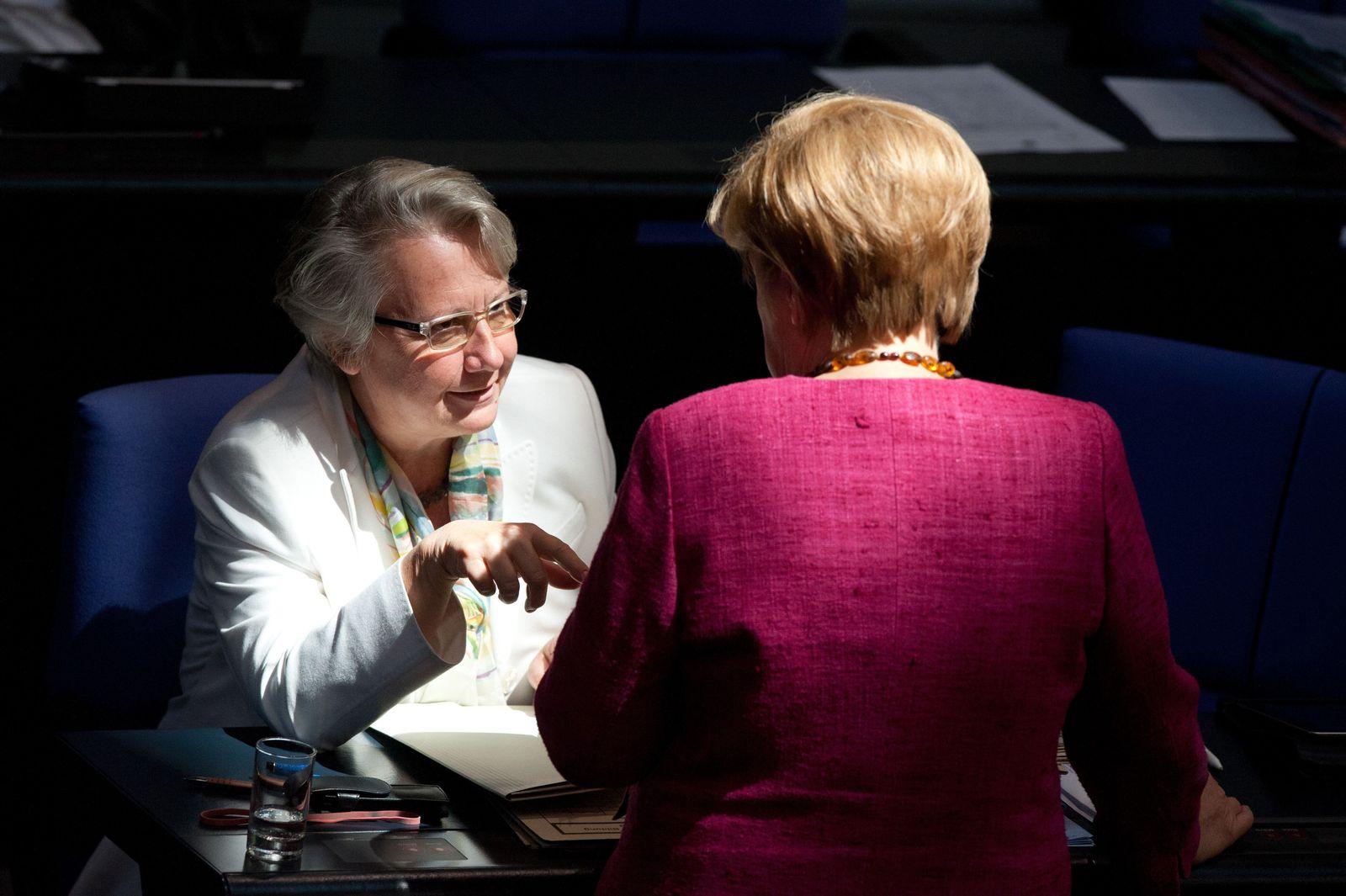 Merkel / Schavan
