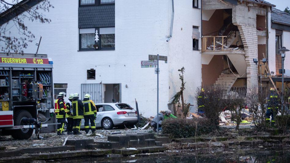 Gasexplosion in NRW: Feuerwehrmann von Trümmern erschlagen - Ermittler loben Belohnung aus