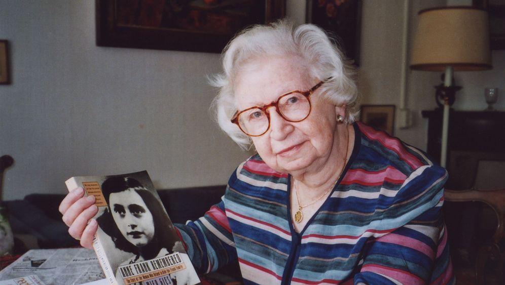 Miep Gies: Die Frau, die Franks Tagebuch im Schreibtisch versteckte