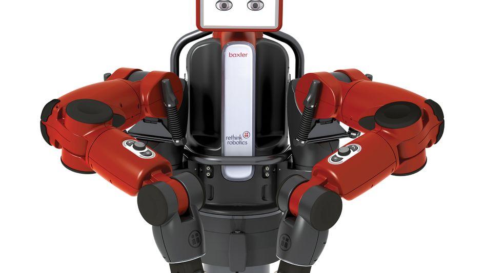 Mehrzweckroboter Baxter: Lernt Bewegungen durch handgreifliche Anleitung