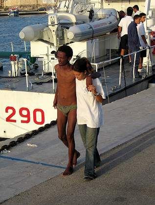 Gefährlicher Weg nach Europa: die Insel Lampedusa wurde zum Schauplatz von zwei Flüchtlingsdramen