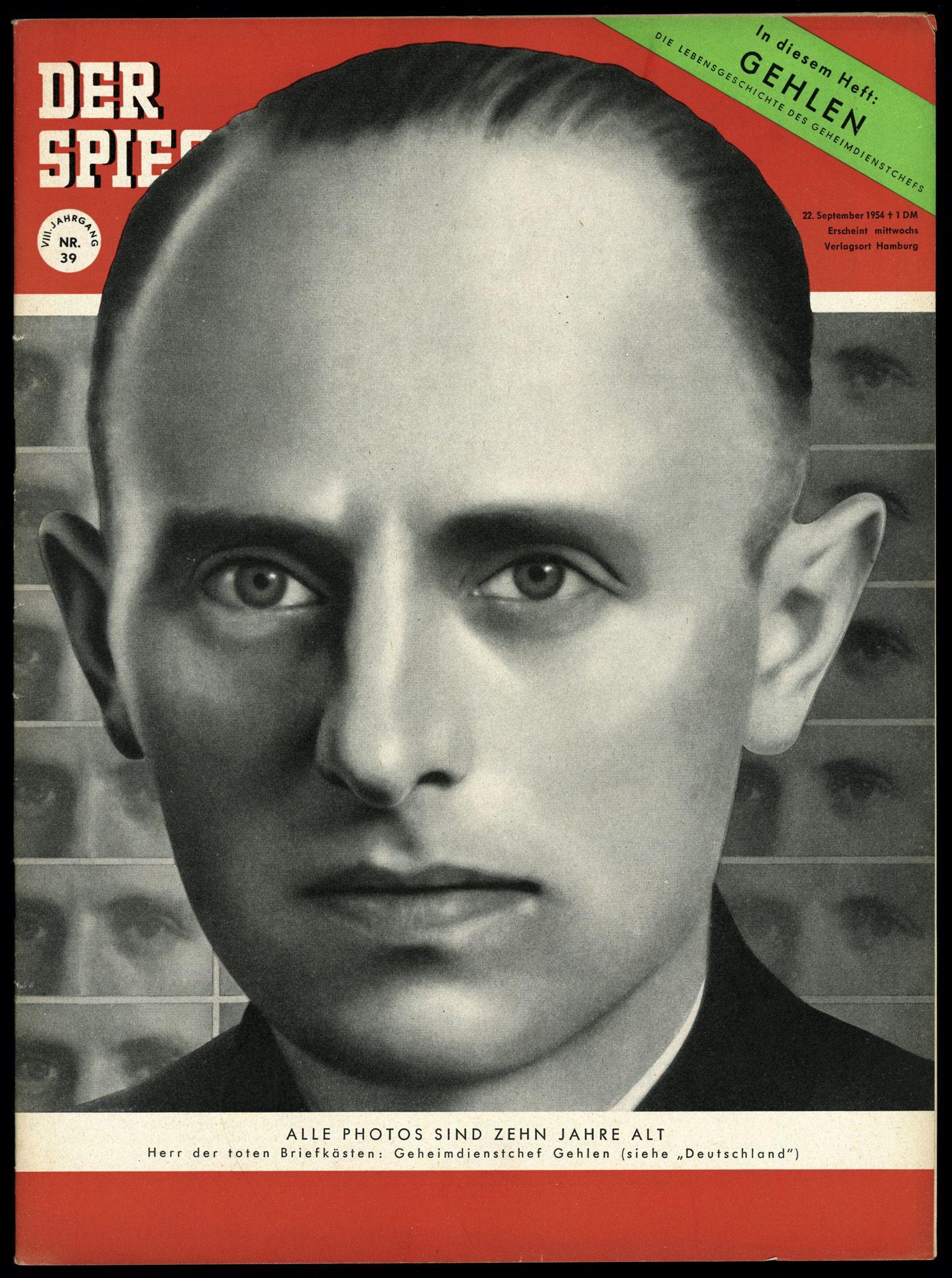 SPIEGEL-Titel 39/1954