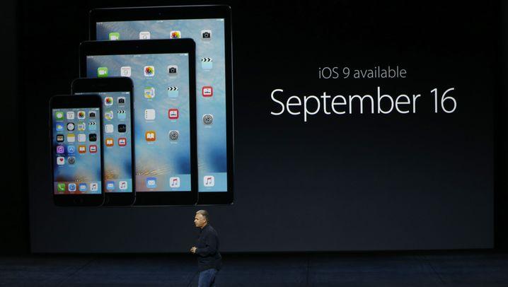 Apple-Keynote: iPads, iPhones, Apple-TV